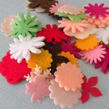 Assorted of many flowers 50 pz C
